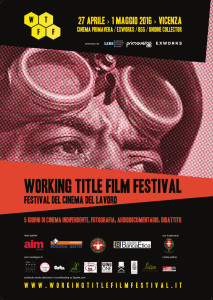 Locandina Working Title Film Festival Vicenza