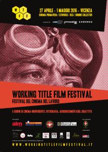 Locandina Working Title Film Festival Vicenza
