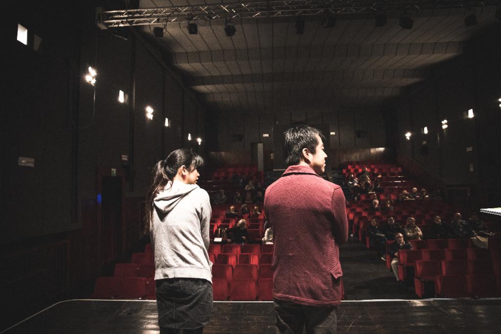 Akiyo Fujimura e Taro Imai