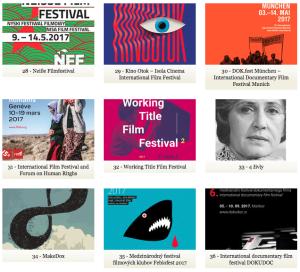 Best festival poster 2017 Ji.hlava