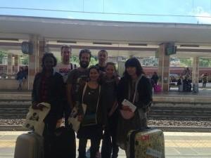 Ultimi saluti alla stazione di Vicenza